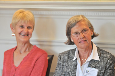 Left2Right Mary McVey, Gail Dougherty