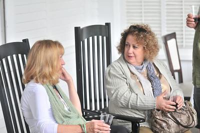 Left2Right Karen Purviance, Pearl Pappas