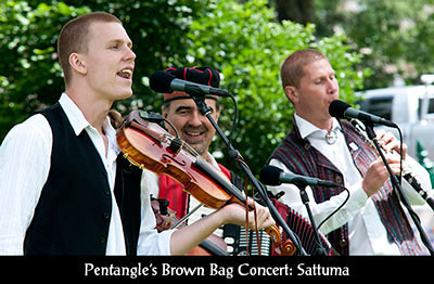 Brown Bag Concert Series Sattuma