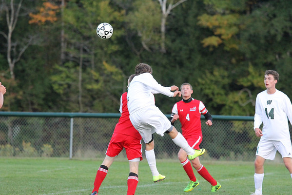 WUHS Boys Soccer vs Mill River