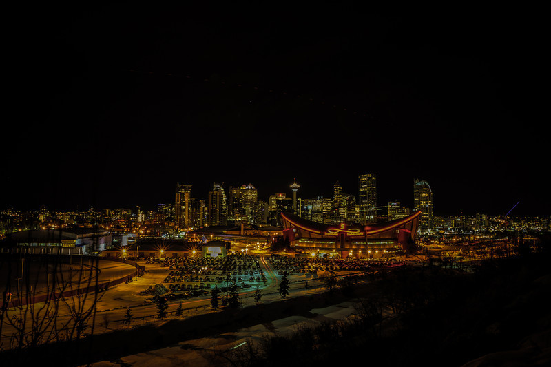 Calgary from Scotchman's Hill