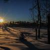 early morning sunrise - over the horizon