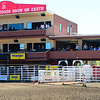 this is a picture of the suite (far right hand side) where I sit every night to take the chuckwagon races