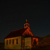 Dorothy Ab.is a ghost town...catholic church with a little help from a red LED light