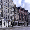 Along High Street, Edinburgh, Scotland