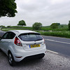 UK Trip, Our rental Focus enroute to the Peak District
