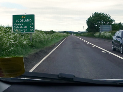 UK Day 9 - Scottish Borders, Jedburgh and Kelso