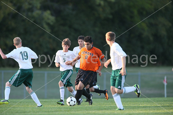 JV Waterford v Burlington 10/1/13