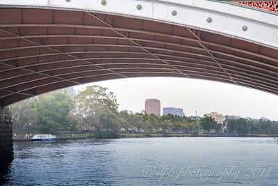 Under the Princess Bridge