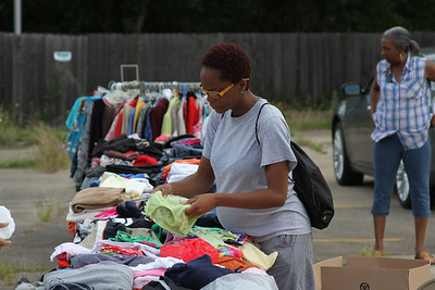 PARKING LOT SALE FOR MENTORING PROGRAM