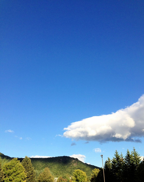 North Conway skies!