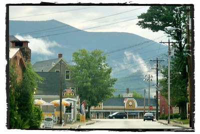 North Conway village