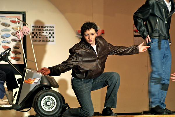 Josh as Sonny in GREASE!<br /> see all shots in my Grease set.
