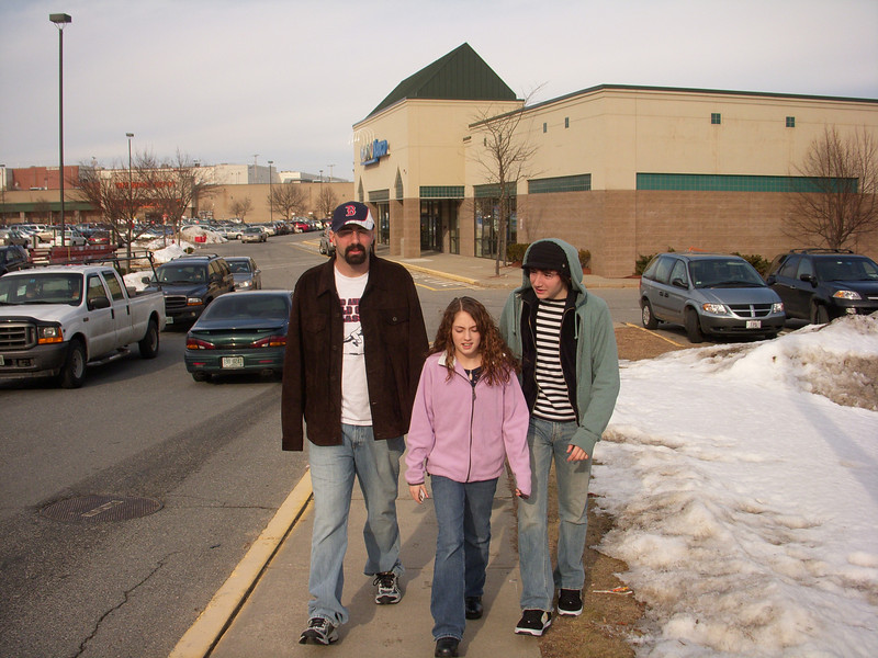 The Loves of my life, Steve, Josh and Bea