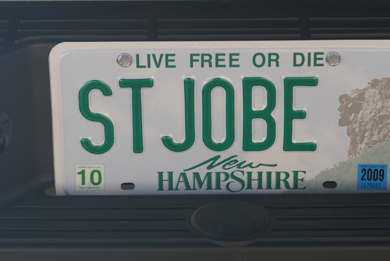 Gotta love the motto!<br /> <br /> Plate = Steve Josh and Bea!