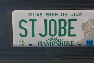 Gotta love the motto!  Plate = Steve Josh and Bea!