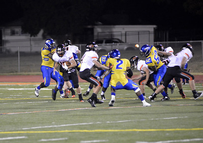 PC Varsity Football vs Ruskin 2013