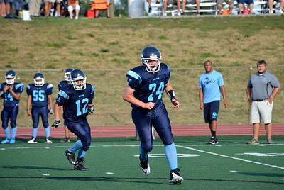 Platte County Freshman Football 2013 vs Oak Park