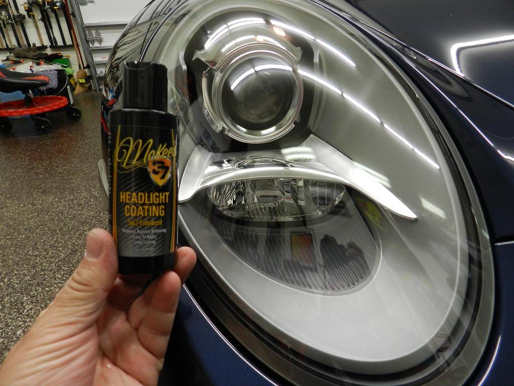 Mckee S37 Headlight Coating Sio2 Enhanced