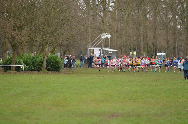Hampshire Cross Country Championships - 4/1/13 Eastleigh
