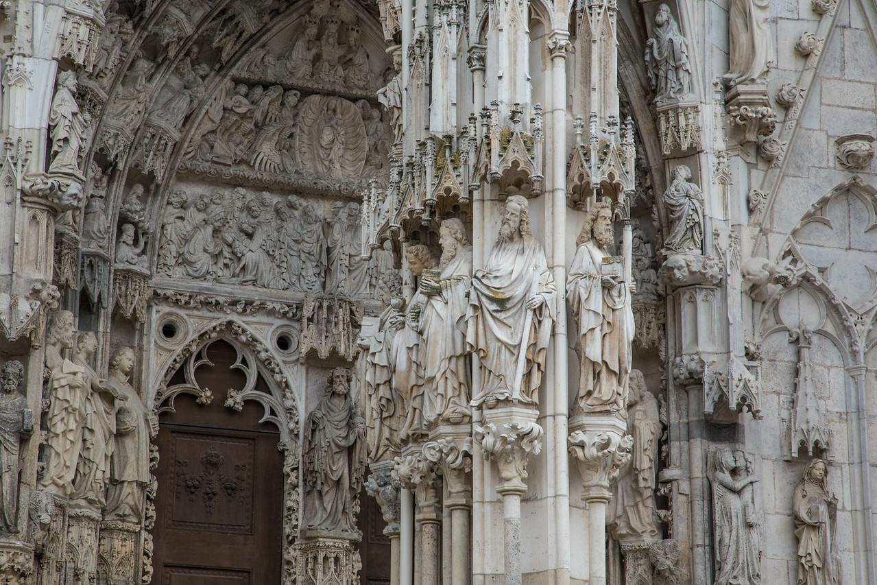 Regensburg Catheral Apostles
