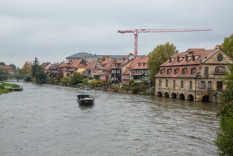 Regnitz River in Bamberg