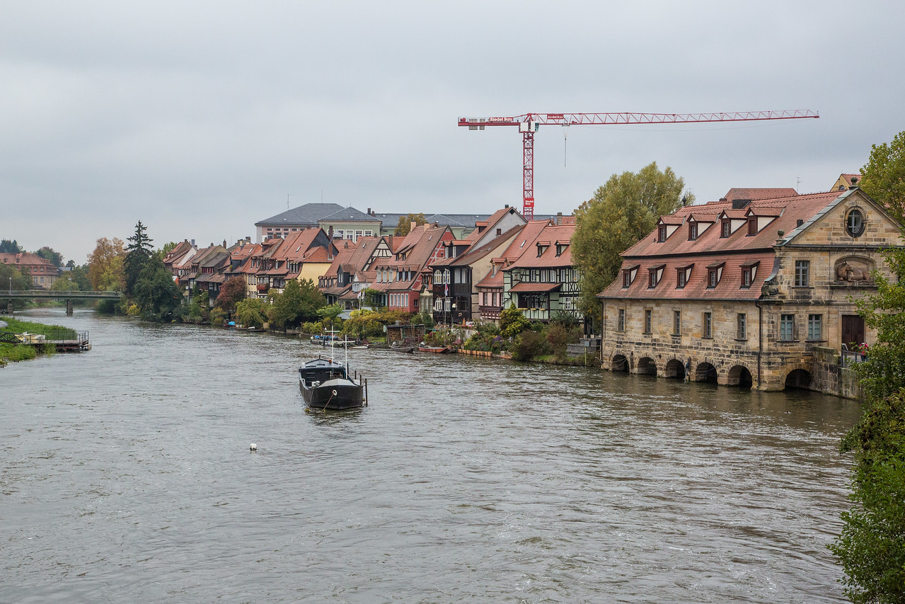 Regnitz River in Bamberg