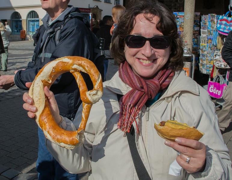 Nuremberg pretzel