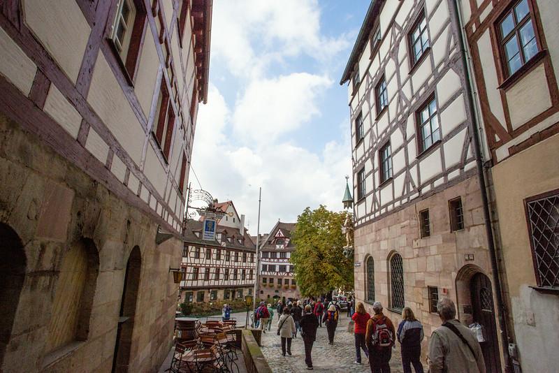 Nuremberg town square