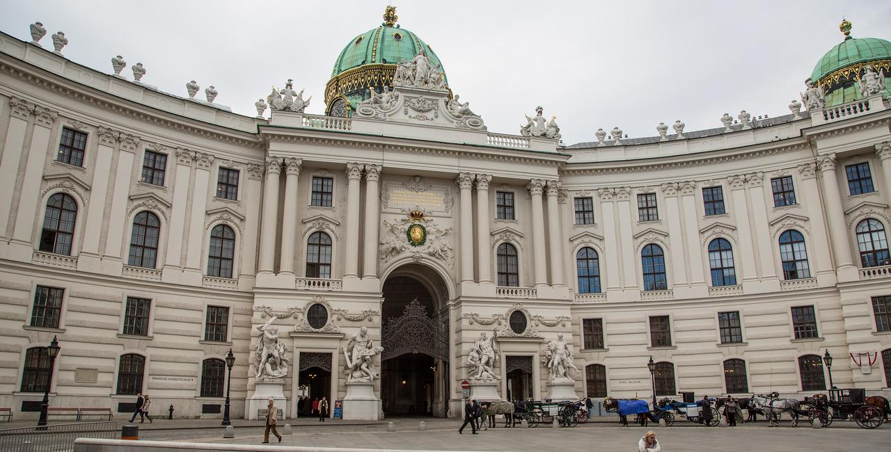 Vienna's Hofburg Palace