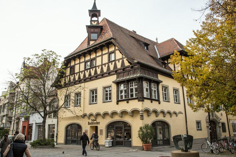 Regensburg architecture
