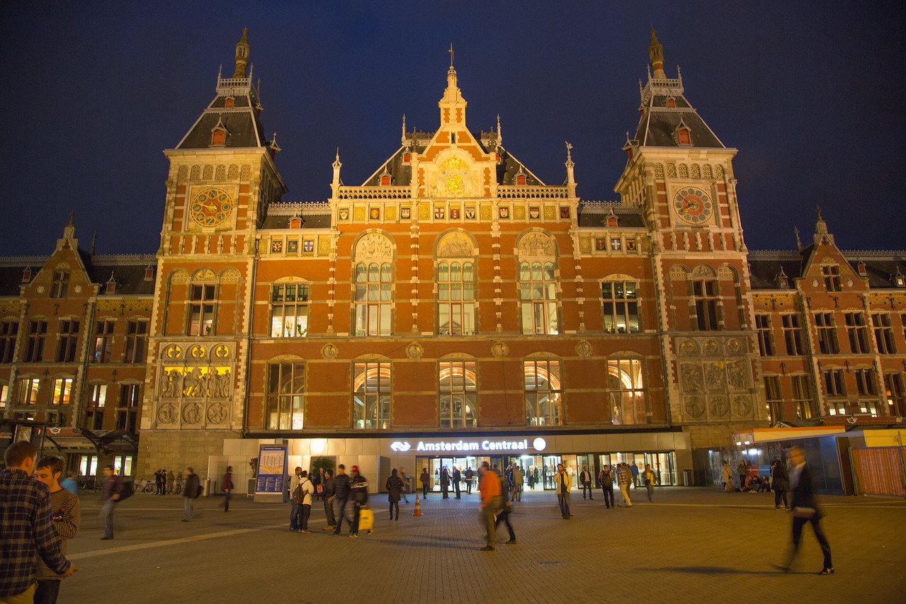 Amsterdam train station