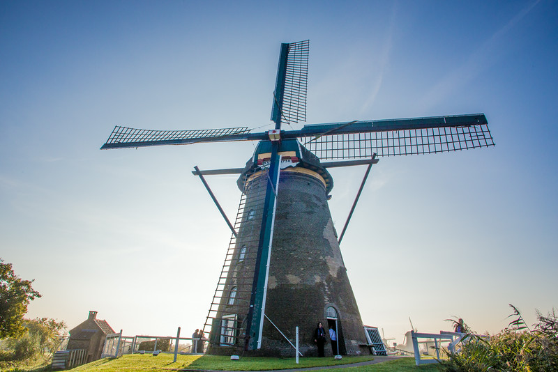 Kinderdyk windmill
