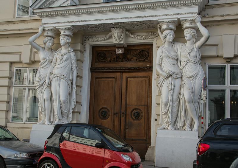 Viennese portico