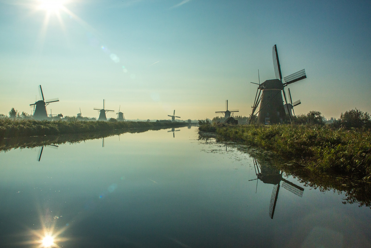 Kinderdyk windmills