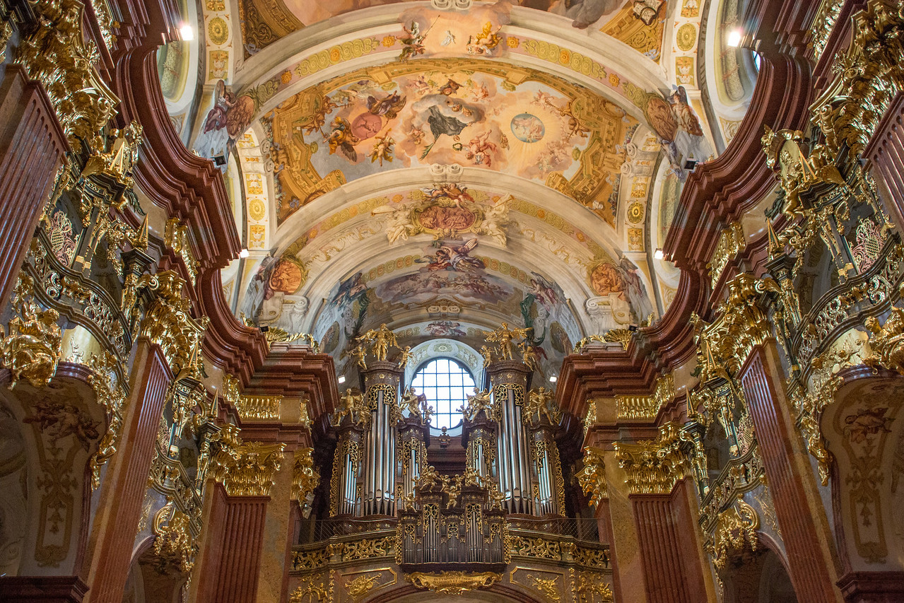 Chapel in Melk Abbey