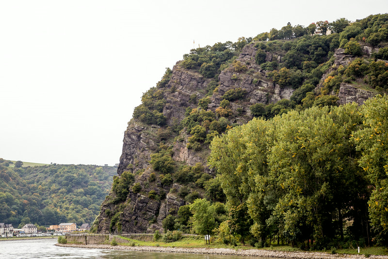Rhine River's Lorelei