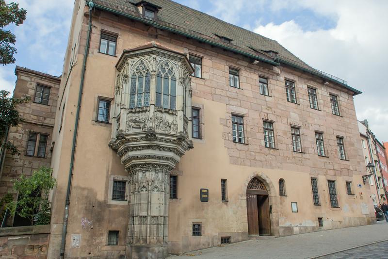 Sebalder Pfarrhof, Nürnberg