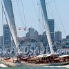 Superyacht Adele sails San Francisco Bay
