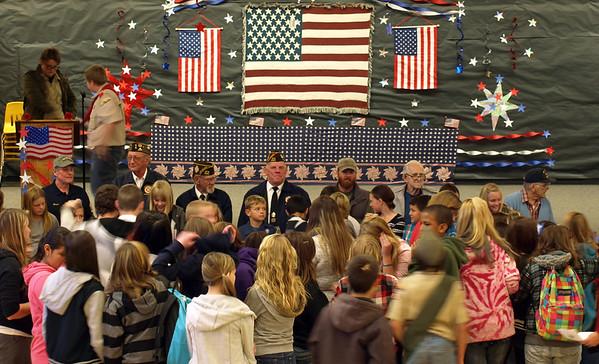 2013 Shaffer Veterans Day Tribute