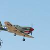 United States P-40 model.