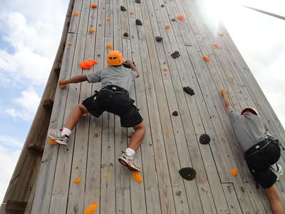 Adventure Camp Climbs