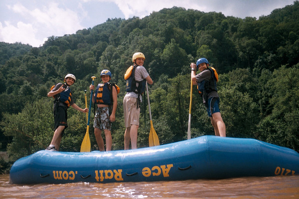 July 21st Whitewater Rafting Trip
