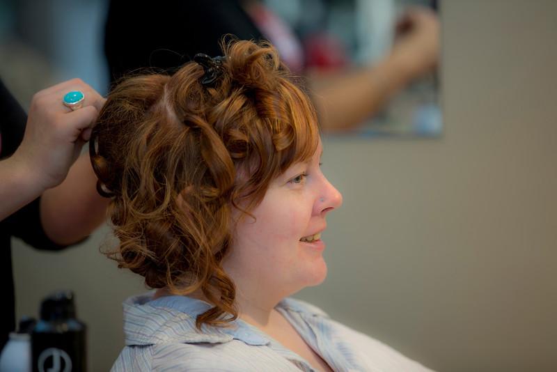 BR girls hair