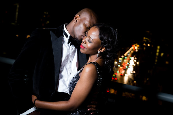 Naomi and Yemi at the Victoria Park Plaza