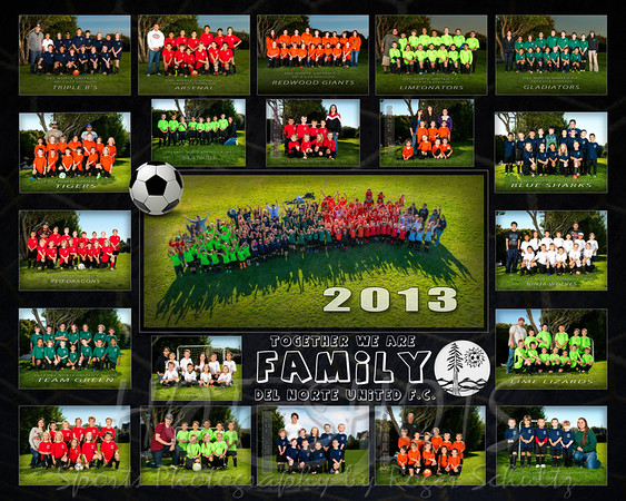16 X 20 POSTER DEL NORTE UNITED FC NO GUIDES