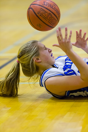 2012 DHS Girls Basketball vs. Westhill