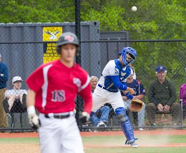 2014 DHS Baseball vs. New Canaan