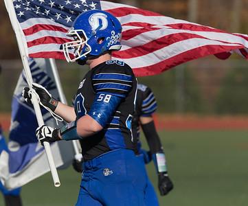 2014 DHS Football Senior Day Pregame North Haven
