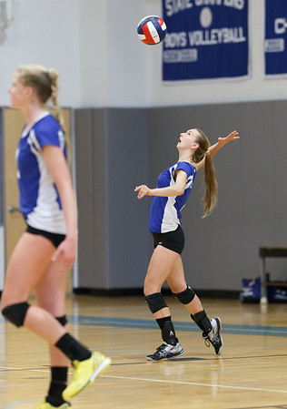 2014 DHS Girls Volleyball vs. St J